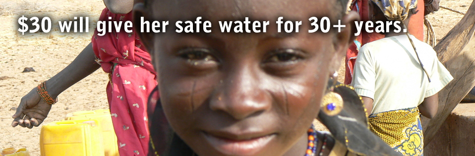$30 will give her save water